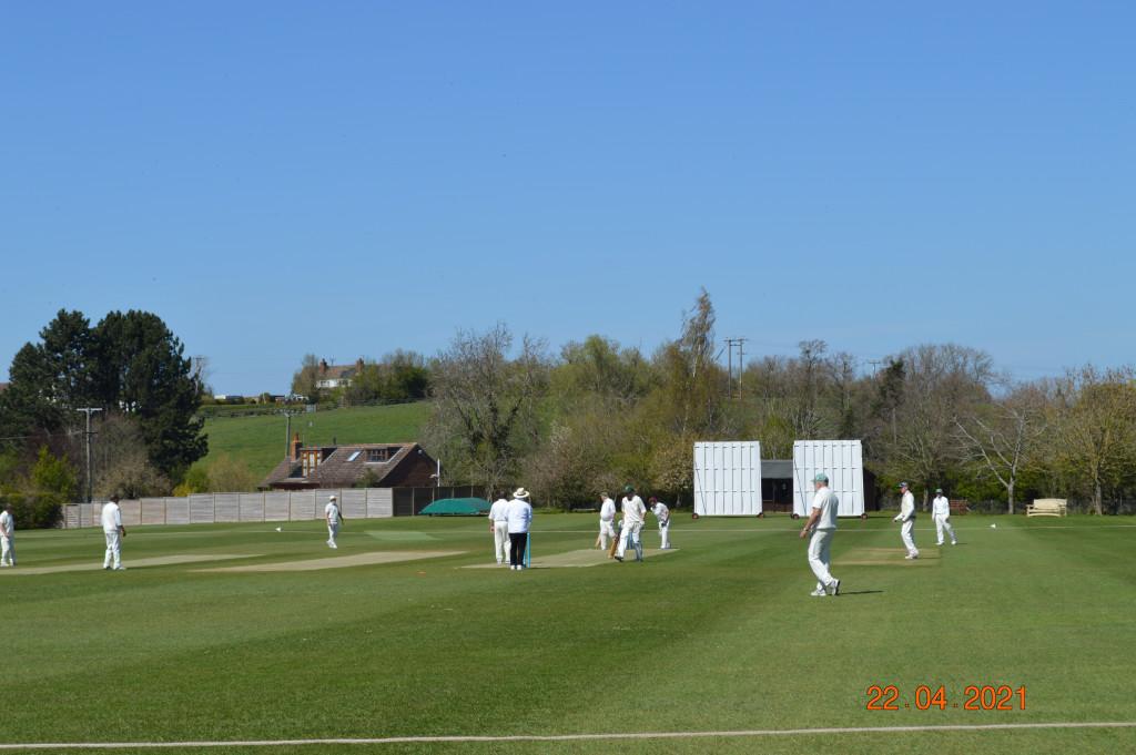 Some senior cricket at last