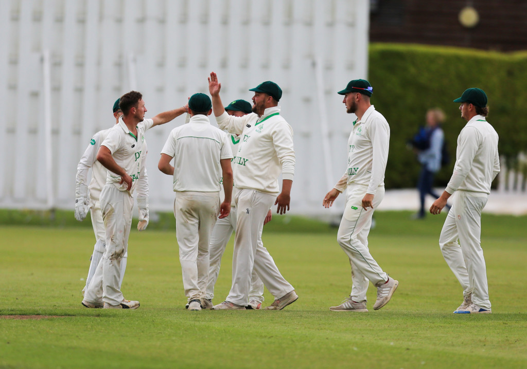 Herts defeated in two days